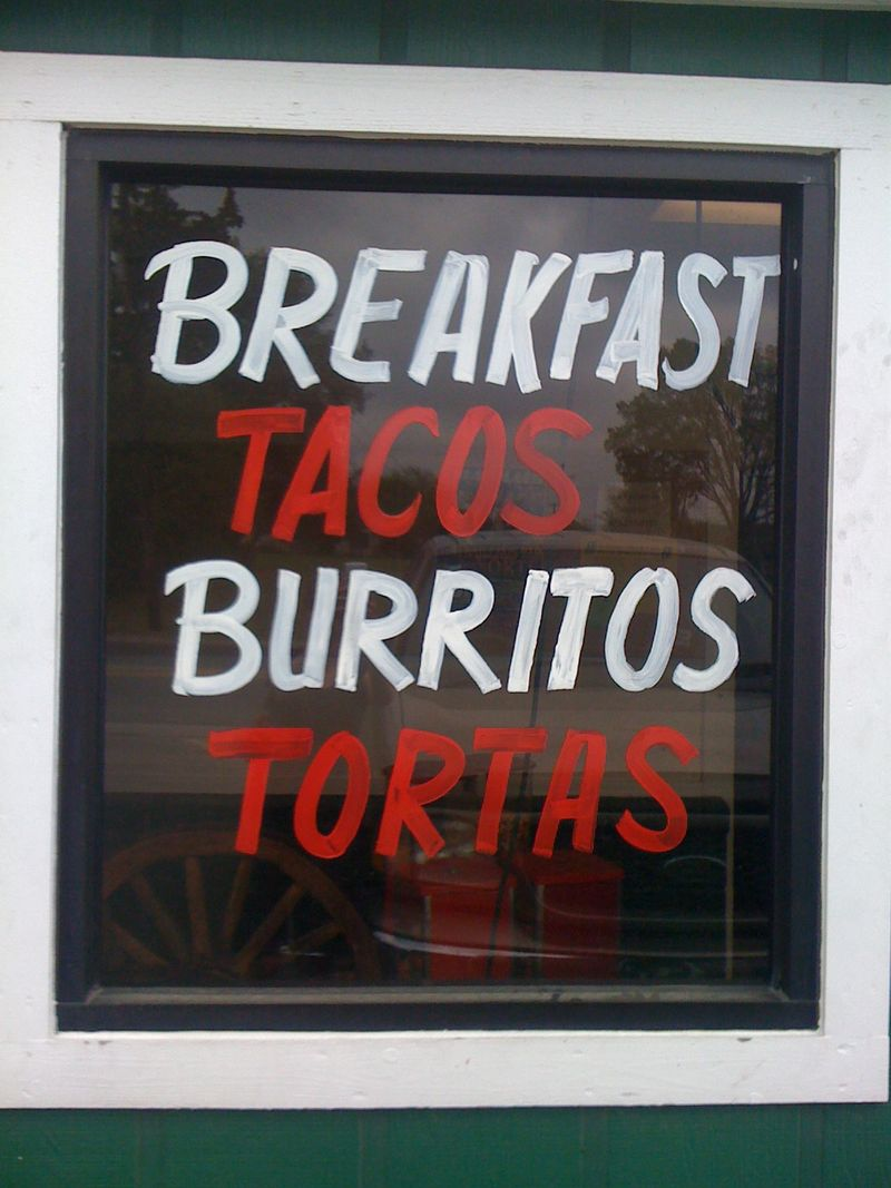 13 breakfast tacos