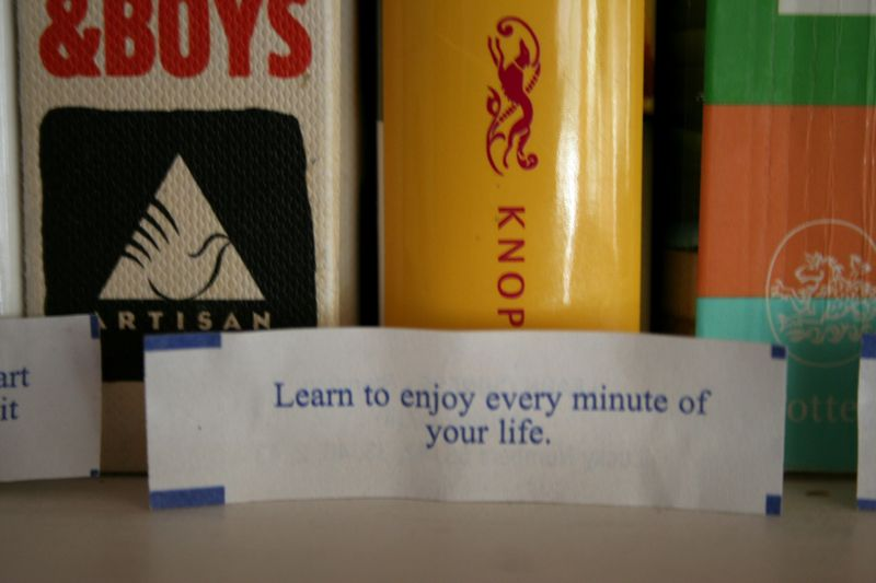 Learn to enjoy